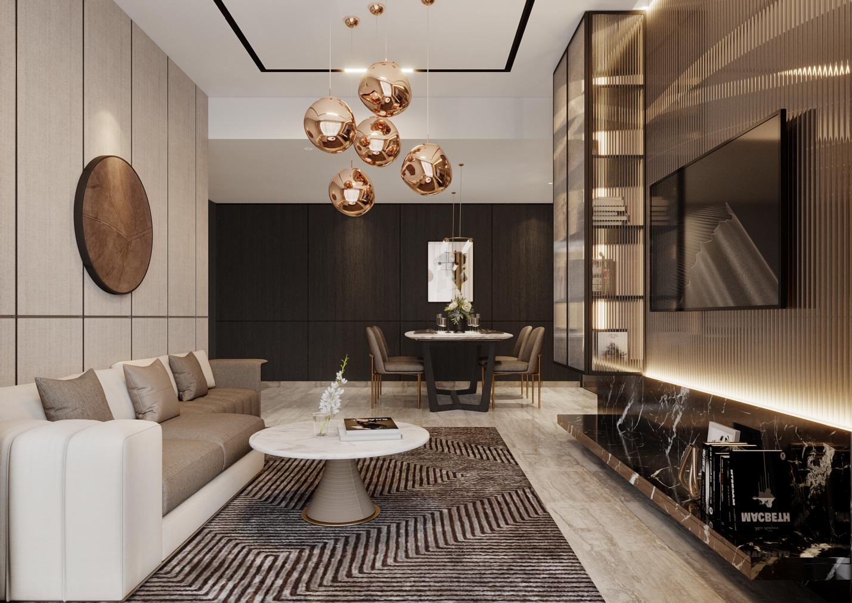 King Crown Infinity cho phép tùy biến thiết kế căn hộ theo sở thích. Ảnh: Đơn vị phát triển dự án BCG Land.