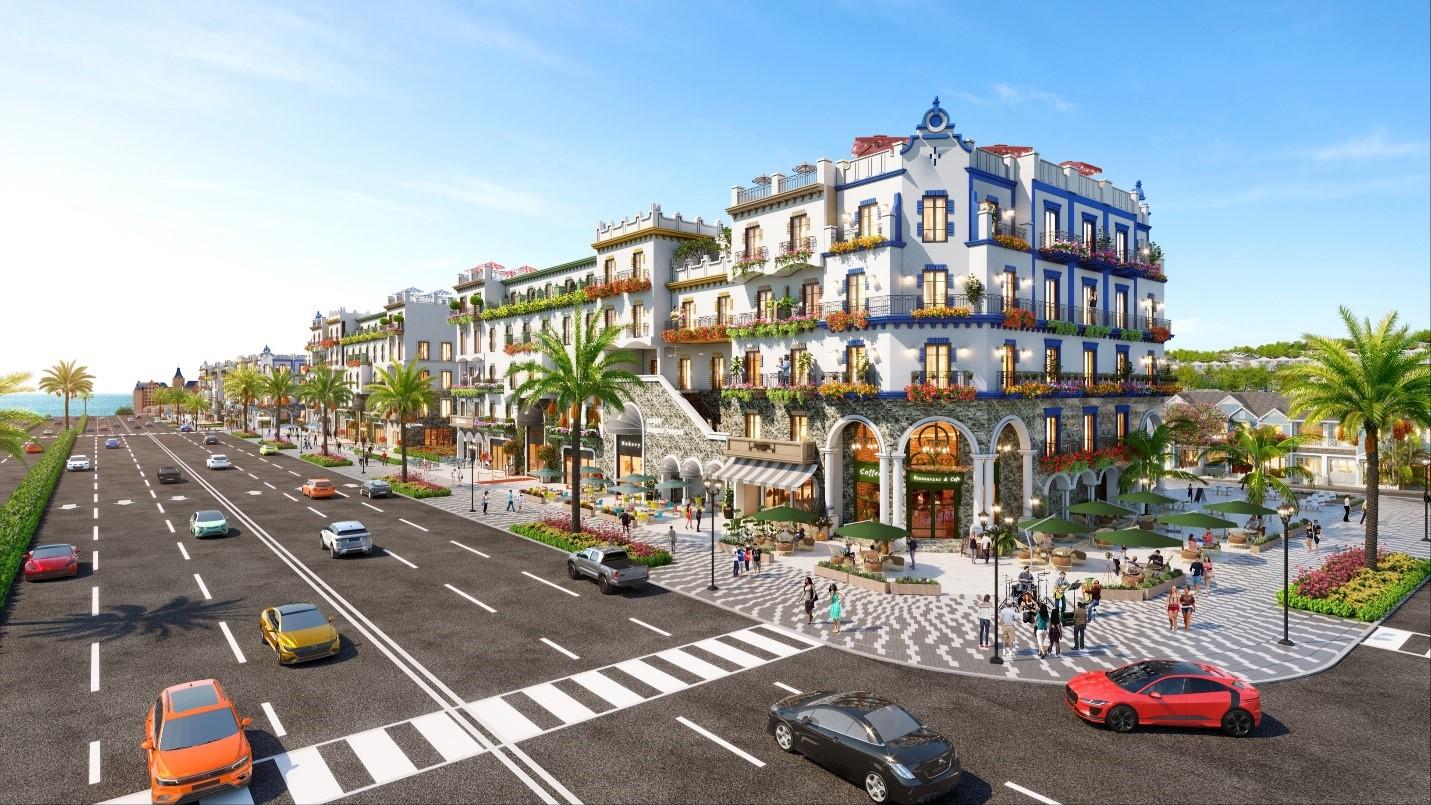Phối cảnh dòng boutique hotel đầu tiên tại Phan Thiết, thuộc dự án NovaWorld Phan Thiet của Novaland. Ảnh: Novaland.