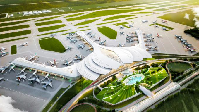 Sân bay Long Thành được kỳ vọng sẽ là động lực phát triển cho vùng kinh tế trọng điểm phía Nam nói riêng và cả nước nói chung.