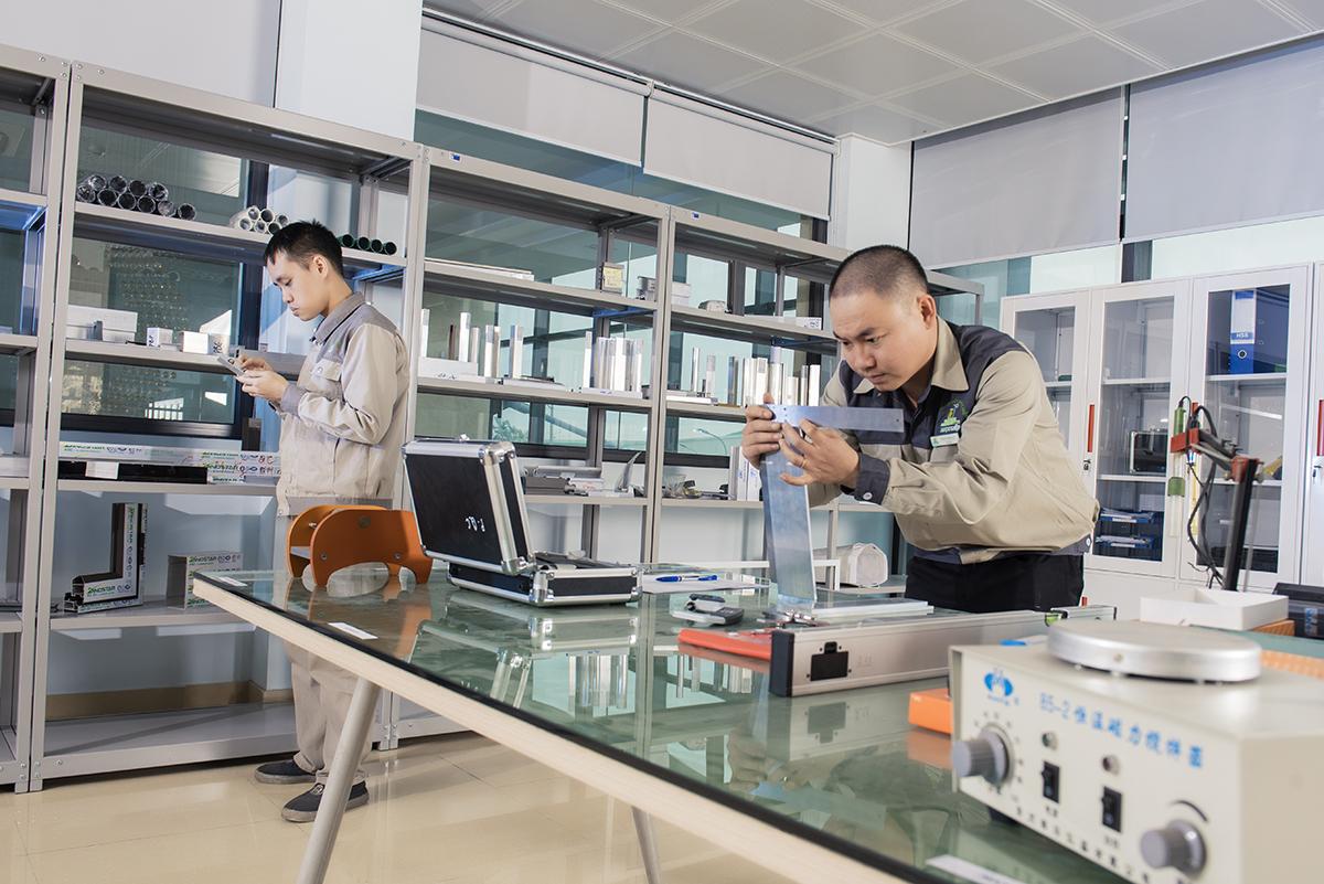 Một phòng thí nghiệm tại Trung tâm Nghiên cứu và Phát triển của tập đoàn Ngọc Diệp.