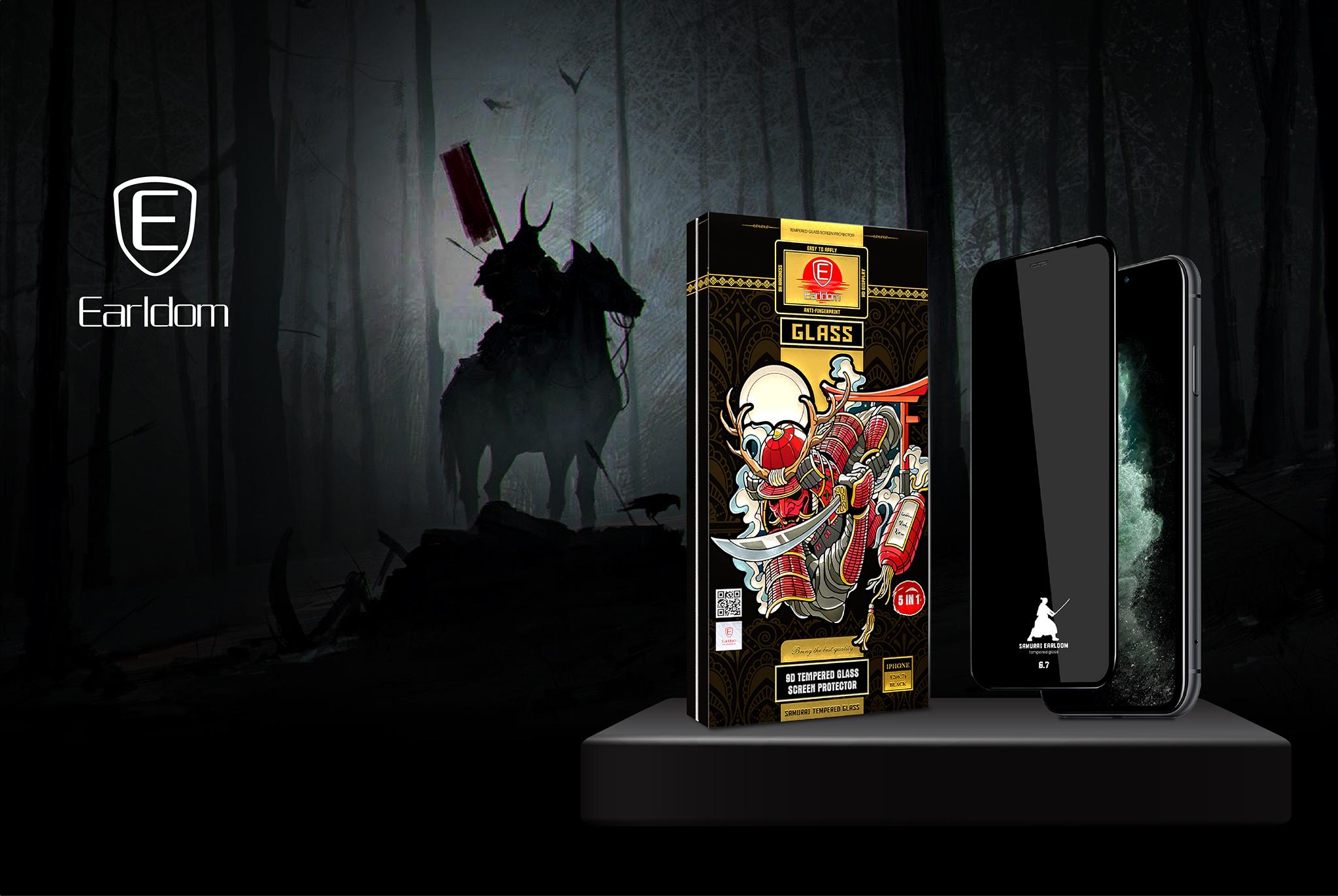dòng sản phẩm kính cường lực Samurai với nhiều tính năng ưu việt.