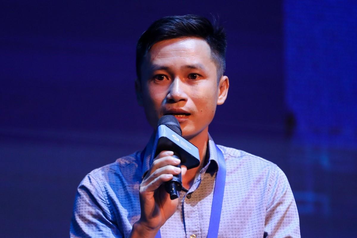 Ông Trần Duy Phong - CEO Công ty TNHH Tép Bạc.