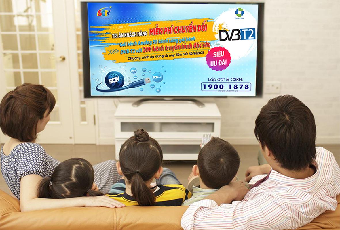 Gần 200 kênh truyền hình kỹ thuật số với nội dung chuyên biệt, hấp dẫn, đa dạng lĩnh vực: Thời sự, văn hóa, giải trí, khoa học, khám phá, thể thao...