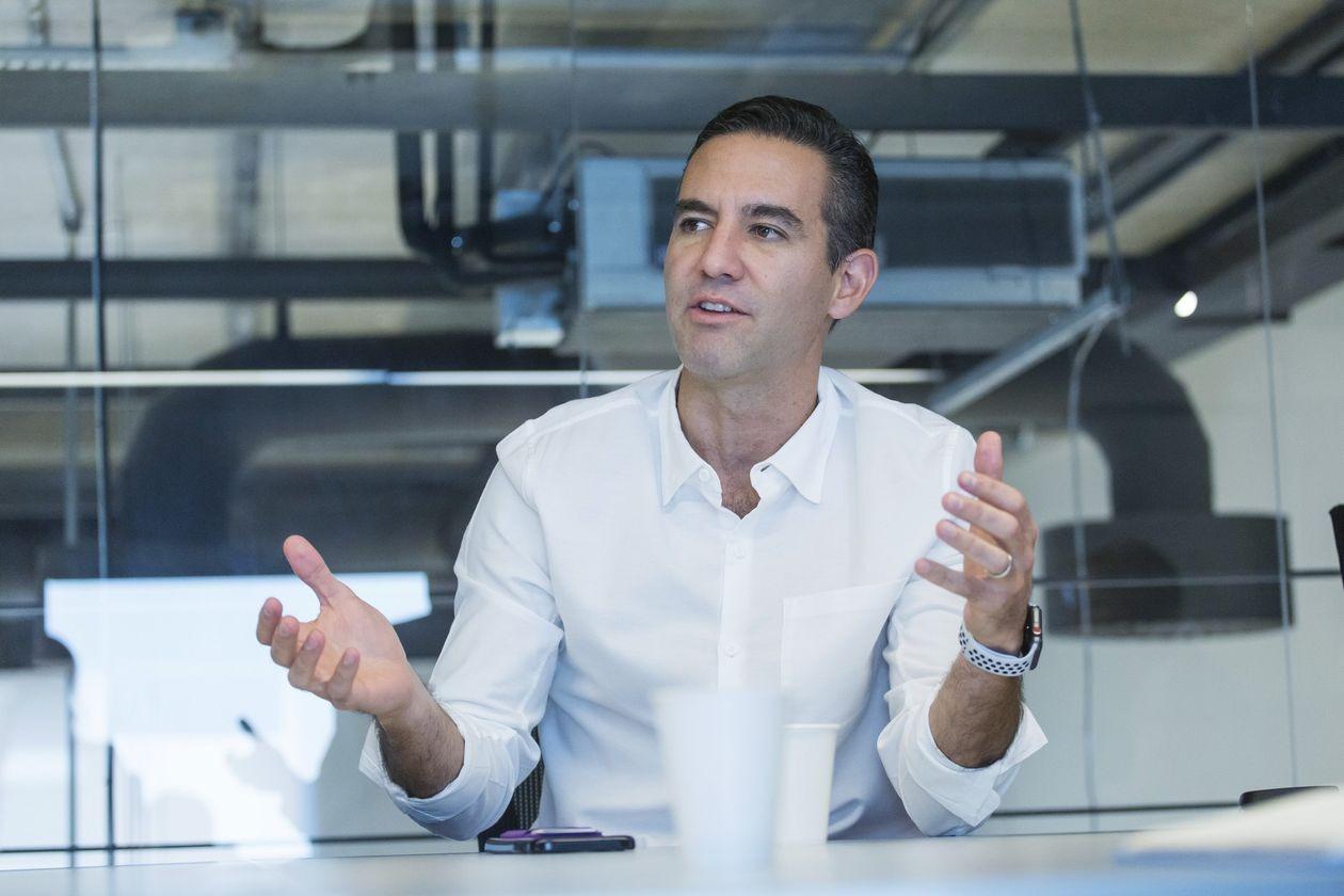 David Vélez, Nhà đồng sáng lập kiêm CEO Nubank. Ảnh: Bloomberg.