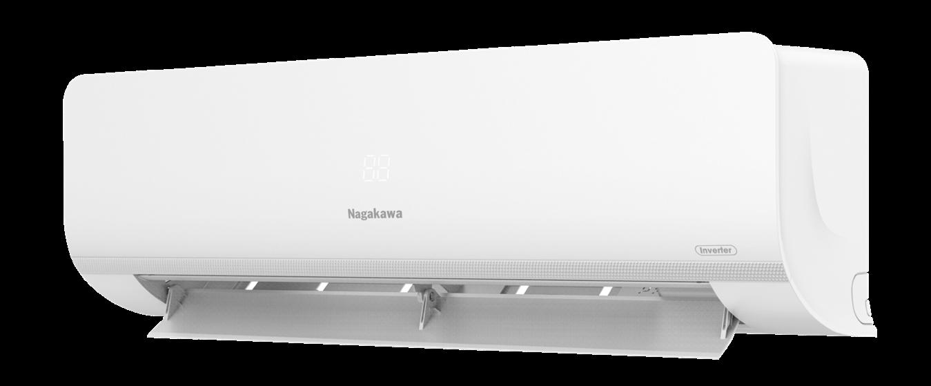 Điều hoà Nagakawa trang bị công nghệ Inverter tiết kiệm điện.