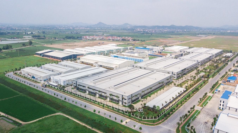 Nhà máy Deli Việt Nam rộng 11ha tại KCN Yên Phong - Bắc Ninh  với quy mô đầu tư nhiều dây chuyền sản xuất hiện đại.