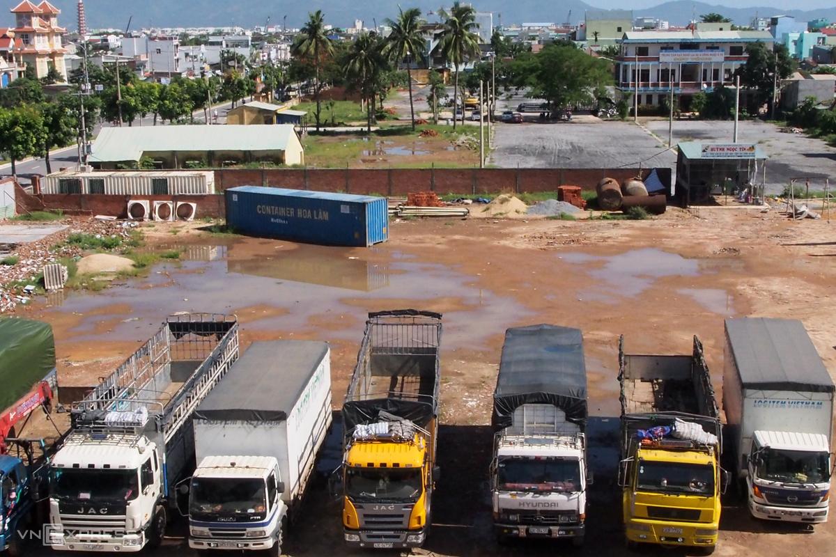 Khu đất tại 209 đường Trường Chinh, Đà Nẵng. Ảnh: Nguyễn Đông.