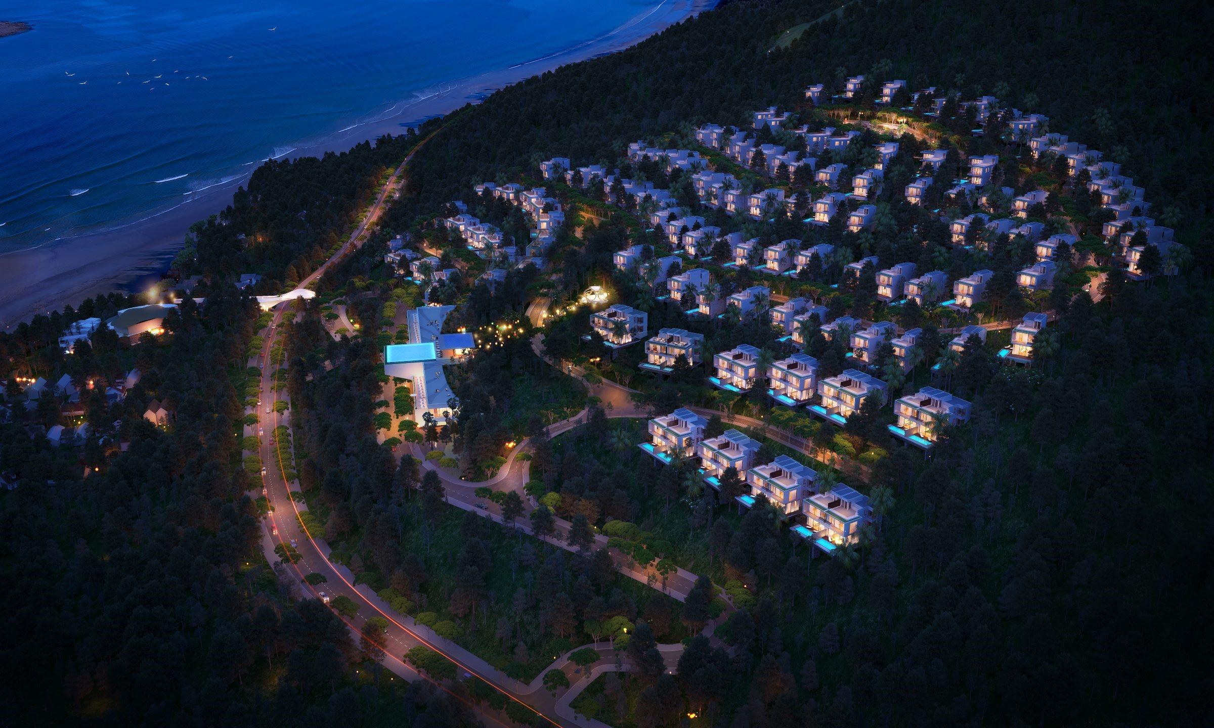 Phân khúc du lịch nghỉ dưỡng cao cấp tại Quy Nhơn còn nhiều dư địa phát triển. Ảnh phối cảnh dự án Casa Marina Premium Quy Nhơn.
