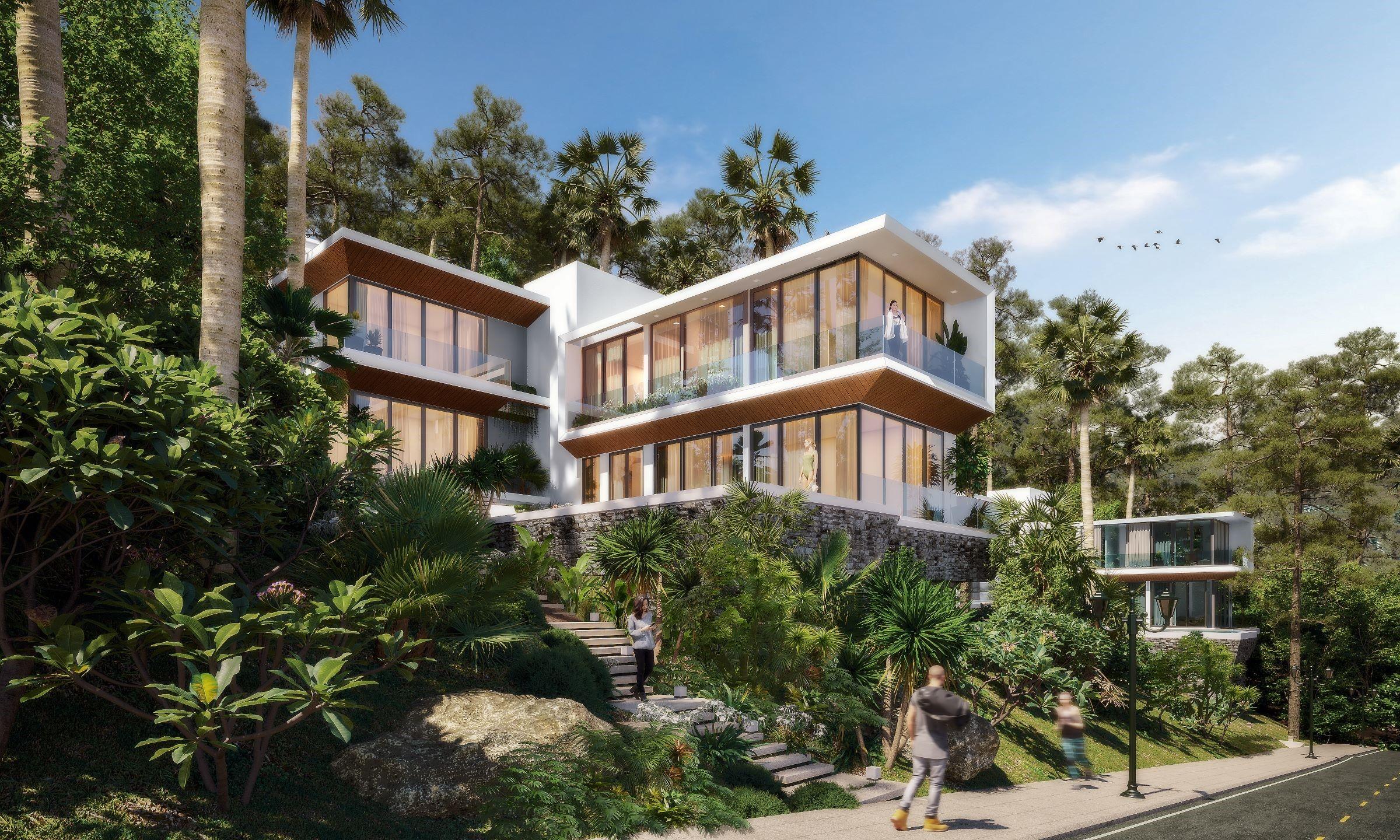 Biệt thự Casa Marina Premium Quy Nhơn hướng đến tạo không gian nghỉ dưỡng cho du khách thượng lưu. Ảnh phối cảnh: BCG Land.