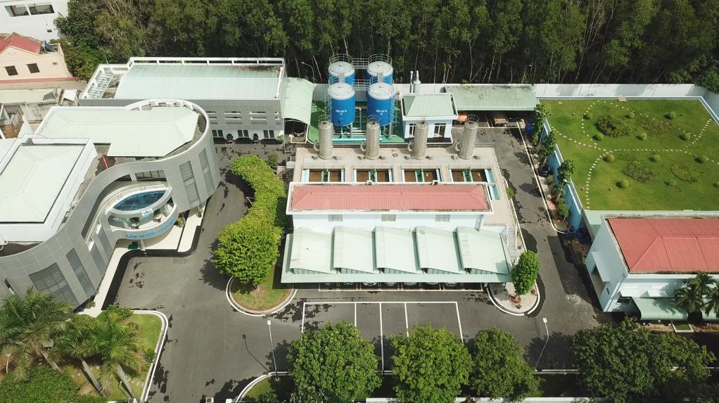 Văn phòng nhà máy nước Phú Mỹ   Bàn giao và đưa vào sử dụng 2015