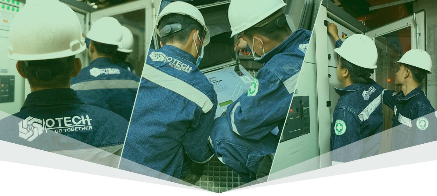Tài nguyên của OTECH là những chuyên gia kỹ thuật dày dạn kinh nghiệm.