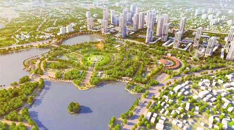 Quy hoạch khu đô thị Tây Nam Kim Giang I.