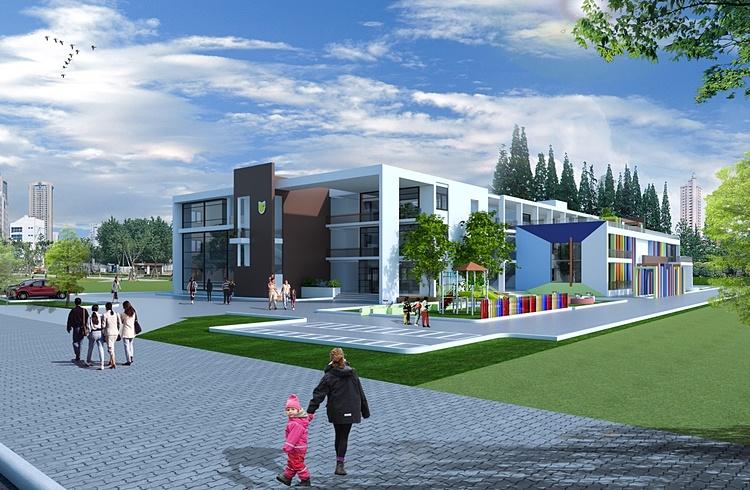 Dự án trường học cạnh tòa L5 đã được khởi công xây dựng.