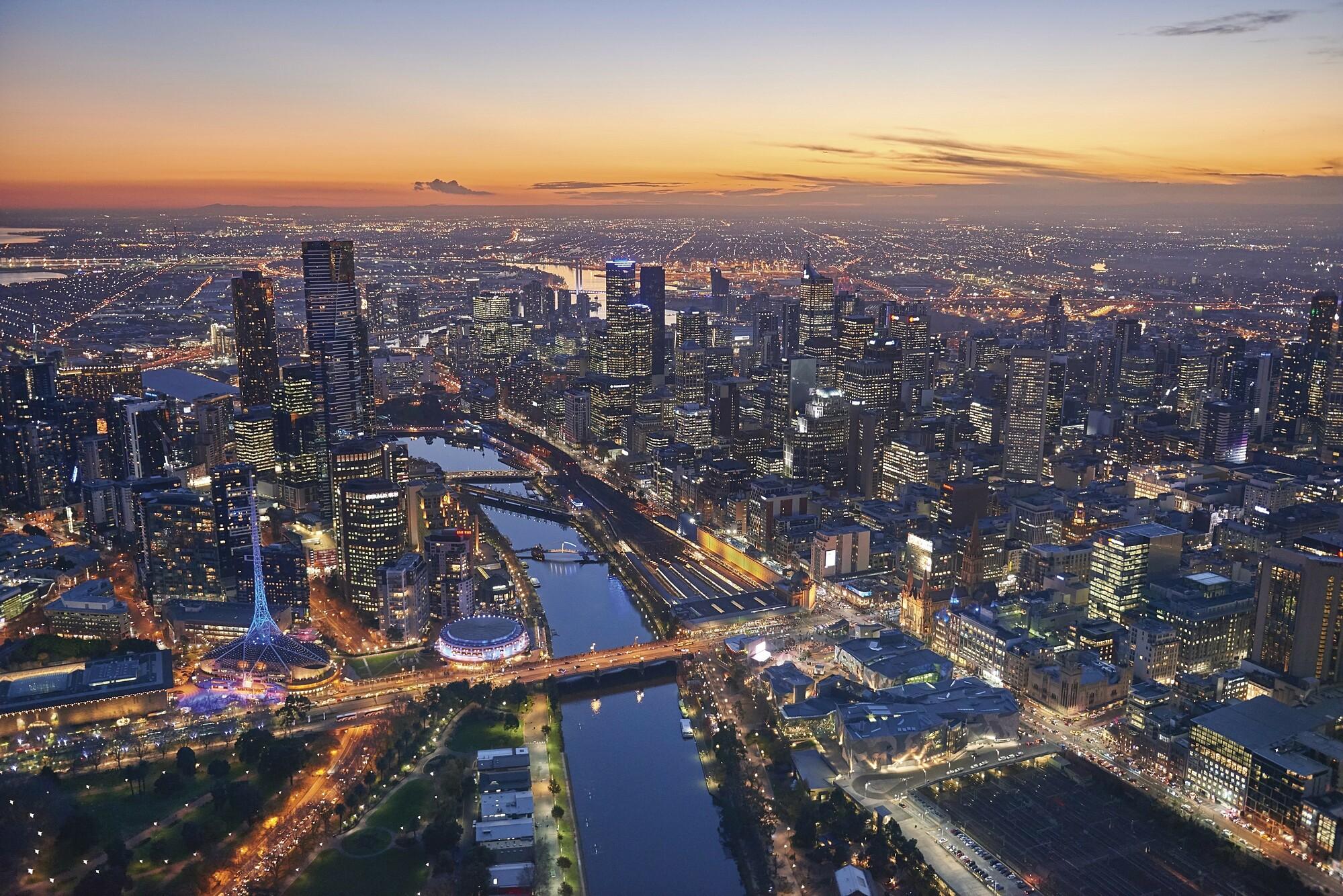 Thành phố Melbourne có quy hoạch tốt và ứng dụng công nghệ vào quản lý đời sống.