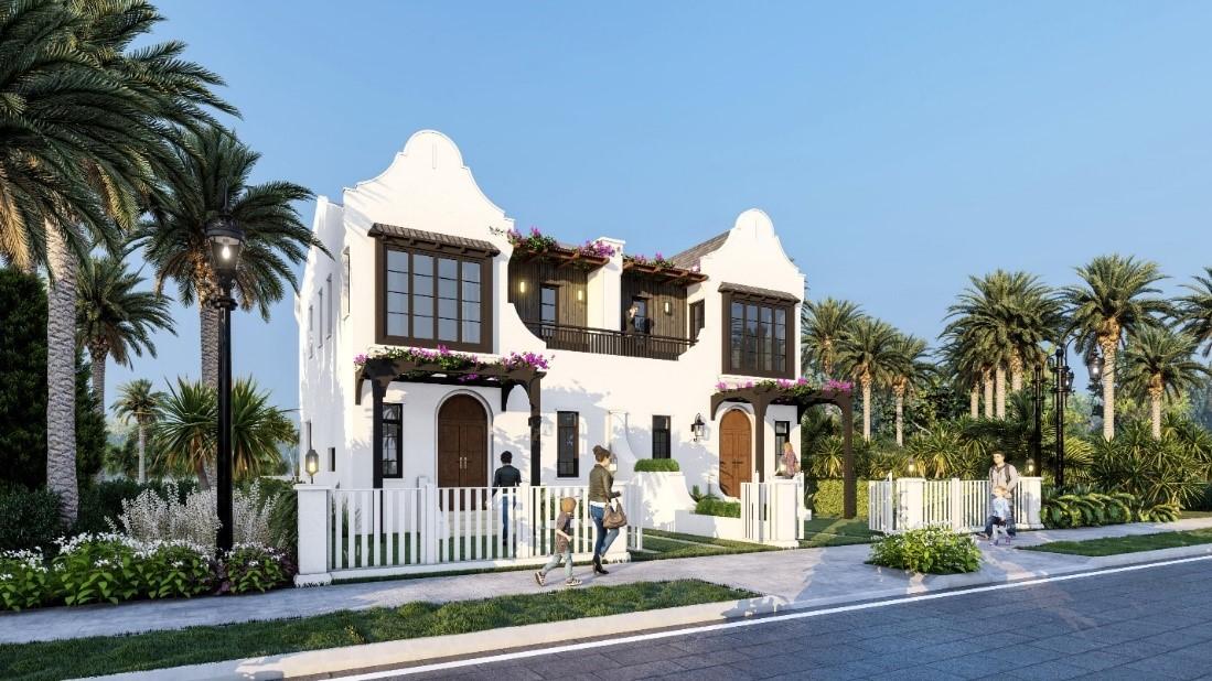 Second home Florida tại NovaWorld Phan Thiet là một trong những sản phẩm bất động sản nghỉ dưỡng đặc sắc, thu hút khách hàng trong và ngoài nước quan tâm trong thời gian qua. Ảnh phối cảnh: Novaland.