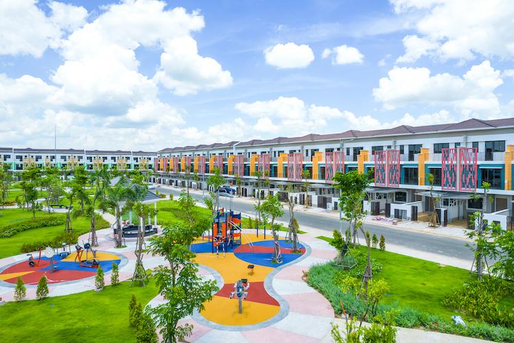 Sun Casa Central có mật độ phủ xanh đến 40%