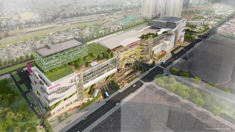 Đại siêu thị Aeon Mall sẽ trở thành điểm nhấn tại Hoàng Mai trong tương lai