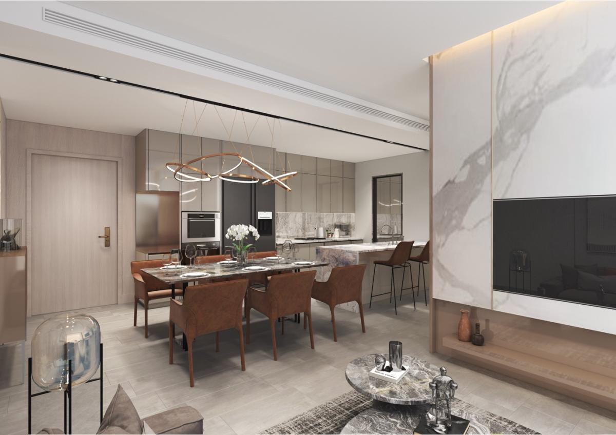 Masteri Centre Point cung cấp nội thất bàn giao chất lượng cao đến từ các thương hiệu hàng đầu thế giới. Ảnh: Masterise Homes.