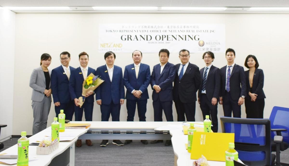 Văn phòng Tập đoàn Danh Khôi tại Nhật Bản khai trương vào ... Ảnh: Tập đoàn Danh Khôi.