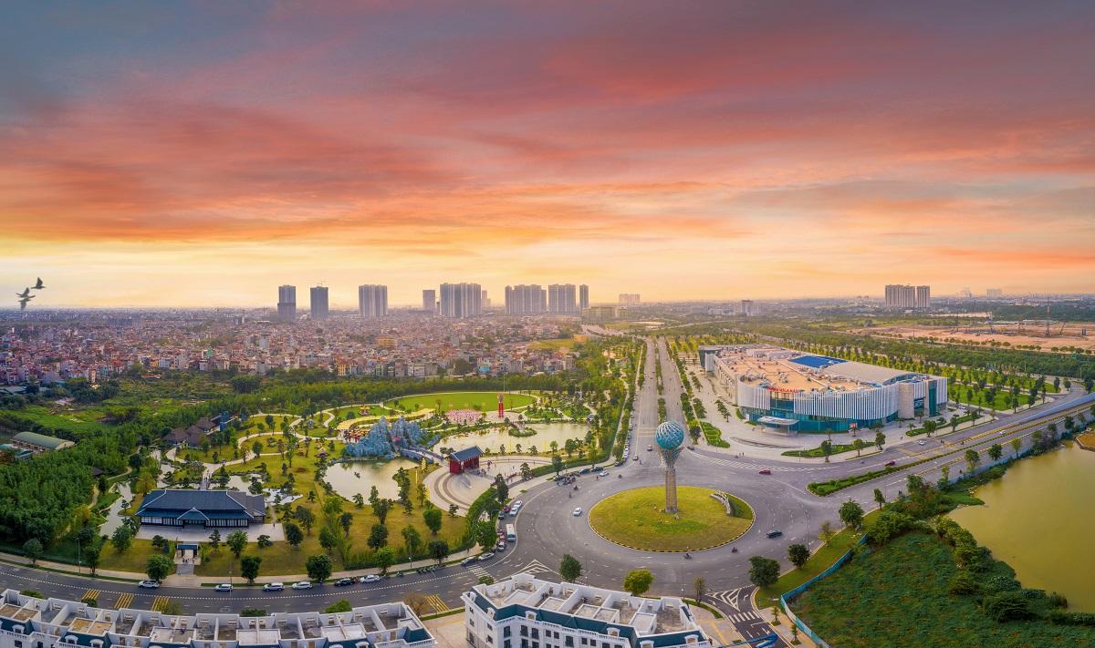 The Metrolines tọa lạc tại tâm điểm kết nối của Vinhomes Smart City - một trong những đô thị lớn nhất phía Tây Hà Nội