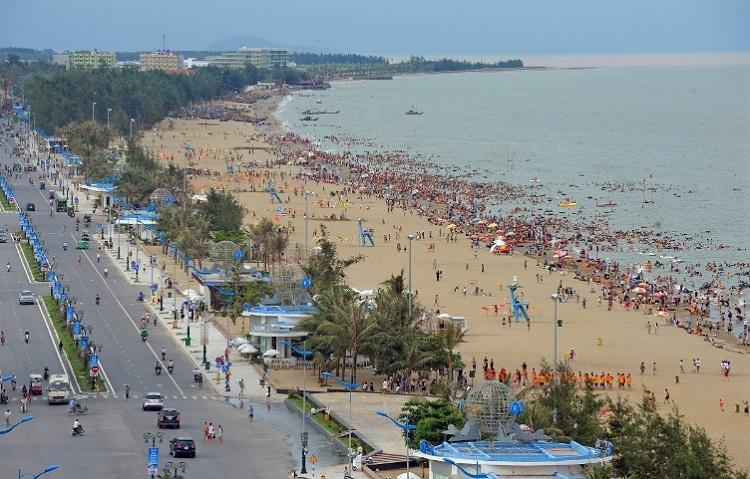 Đường ven biển Hồ Xuân Hương. Ảnh: Sun Group.