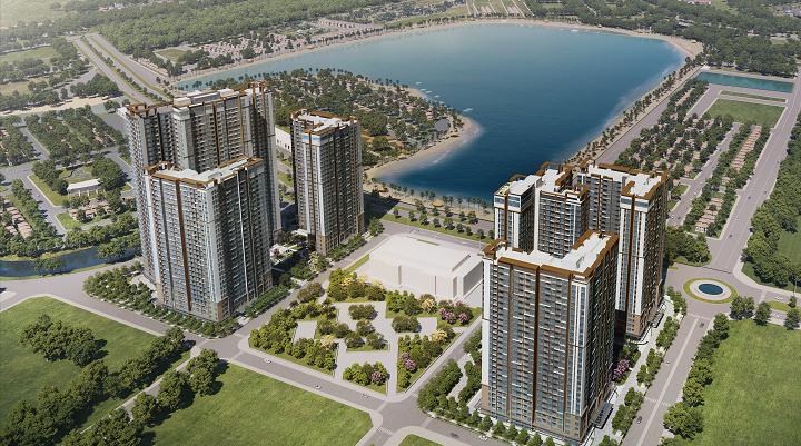 Các chuyên gia cho rằng giá rằng giá bất động sản ở Việt Nam thời gian tới sẽ tiếp tục tăng nếu không có biến cố nào lớn. Ảnh phối cảnh: Masterise Homes.