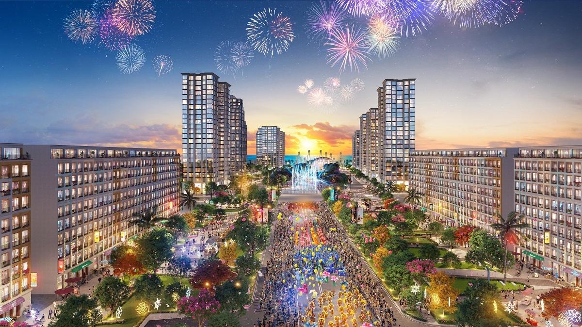 Đại đô thị Sun Grand Boulevard lấy cảm hứng từ những đại lộ nổi tiếng thế giới.