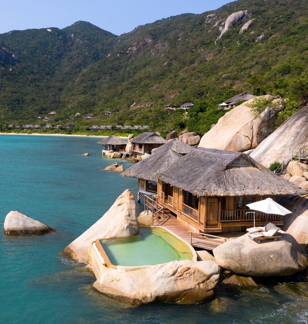 Six Senses Ninh Van Bay là khu nghỉ dưỡng cao cấp tại Nha Trang.