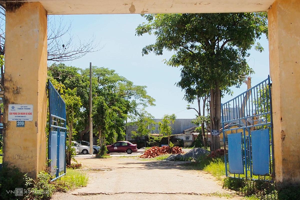 Lô đất 209 Trường Chinh. Ảnh: Nguyễn Đông.