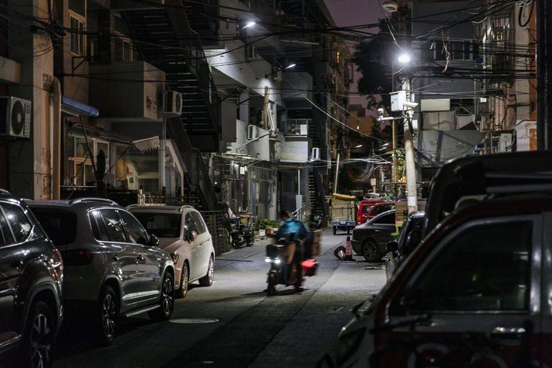 Khu phố nơi Wang ở trong thời gian tới. Ảnh: Bloomberg.