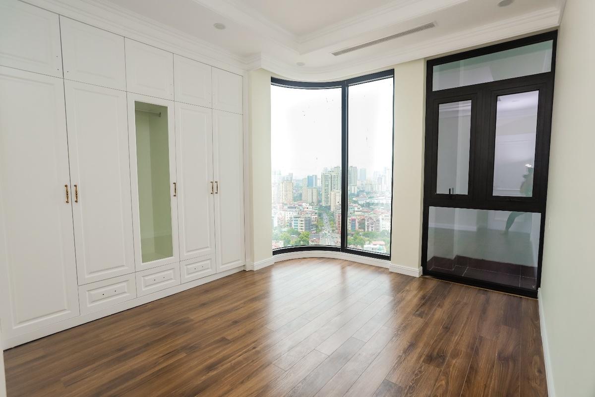Căn hộ hoàn thiện với nội thất liền tường cao cấp