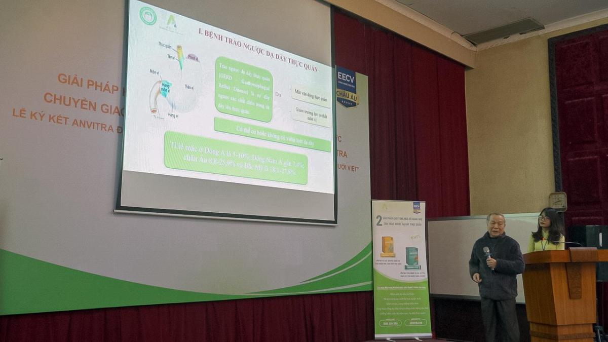 Giáo sư, tiến sĩ Đào Văn Phan phát biểu tại hội thảo vào ngày 19/1/2021.