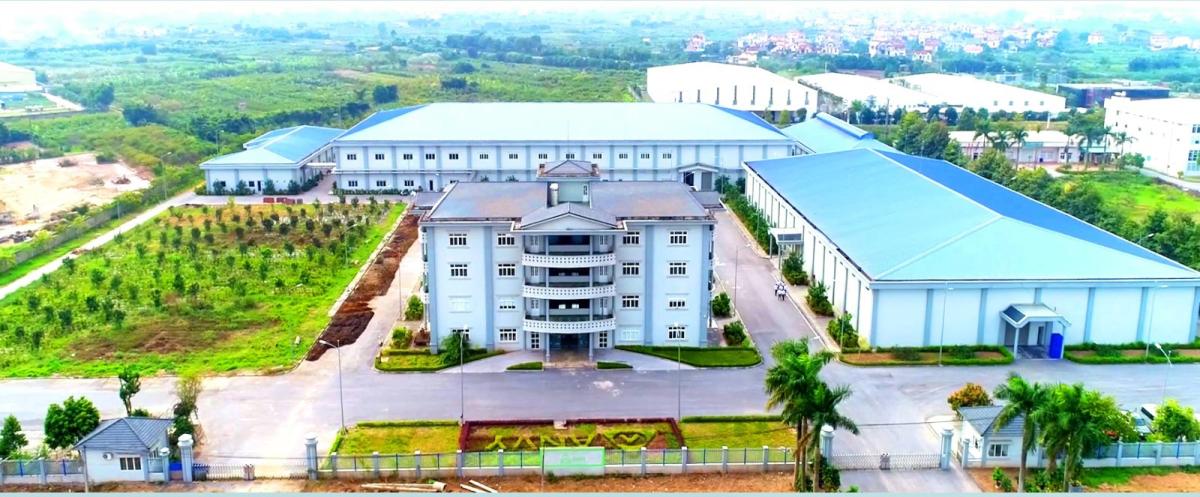 Toàn cảnh Công ty Cổ phần Anvy trên diện tích 40.000m2 tại Hưng Yên.