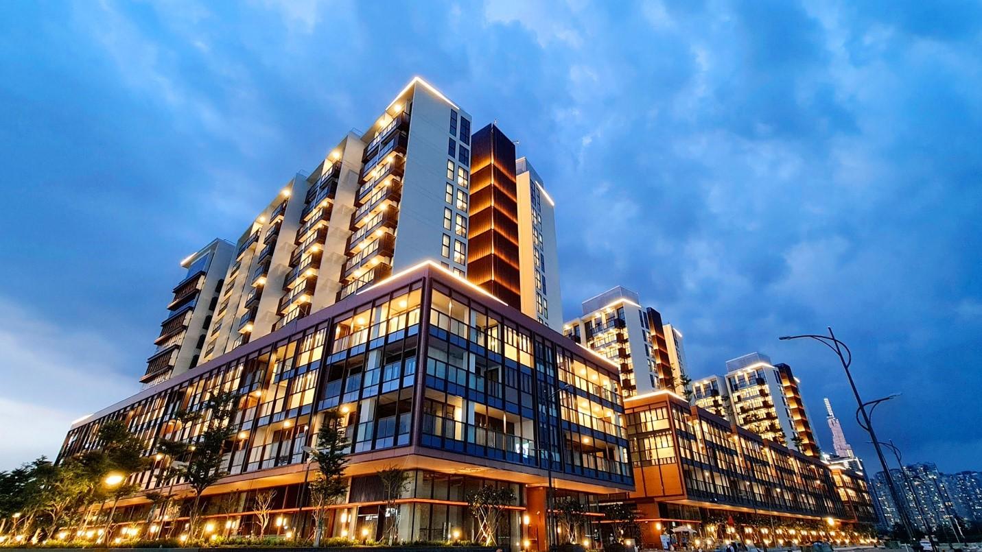 The Galleria Residence thuộc giai đoạn một của dự án Metropole Thủ Thiêm. Ảnh: SonKim Land.
