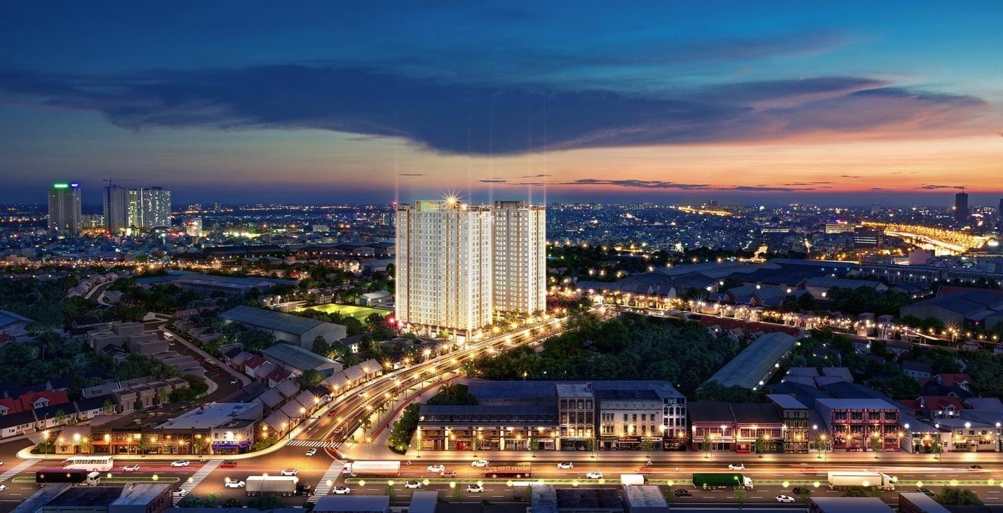 Tecco Felice Homes đem đến cho cư dân trải nghiệm đáng giá tại TP Thuận An. Ảnh phối cảnh: Tecco Group.
