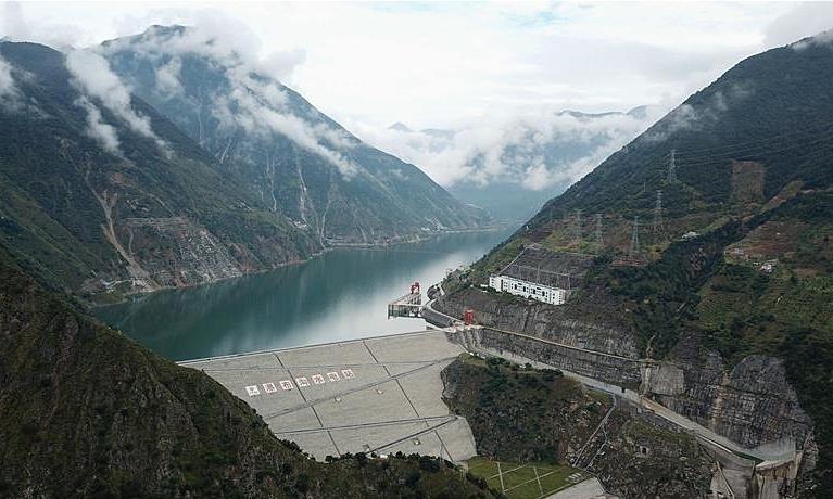 Một đập thủy điện ở Tứ Xuyên, Trung Quốc. Ảnh: Xinhua.