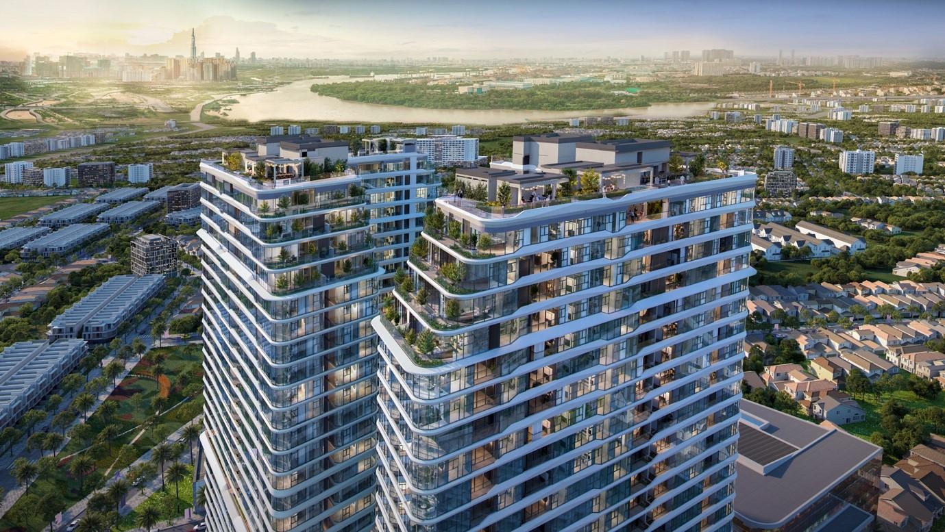King Crown Infinity - dự án bất động sản cao cấp cùng BCG Land vượt sóng Covid-19 thành công. Ảnh phối cảnh: BCG Land.