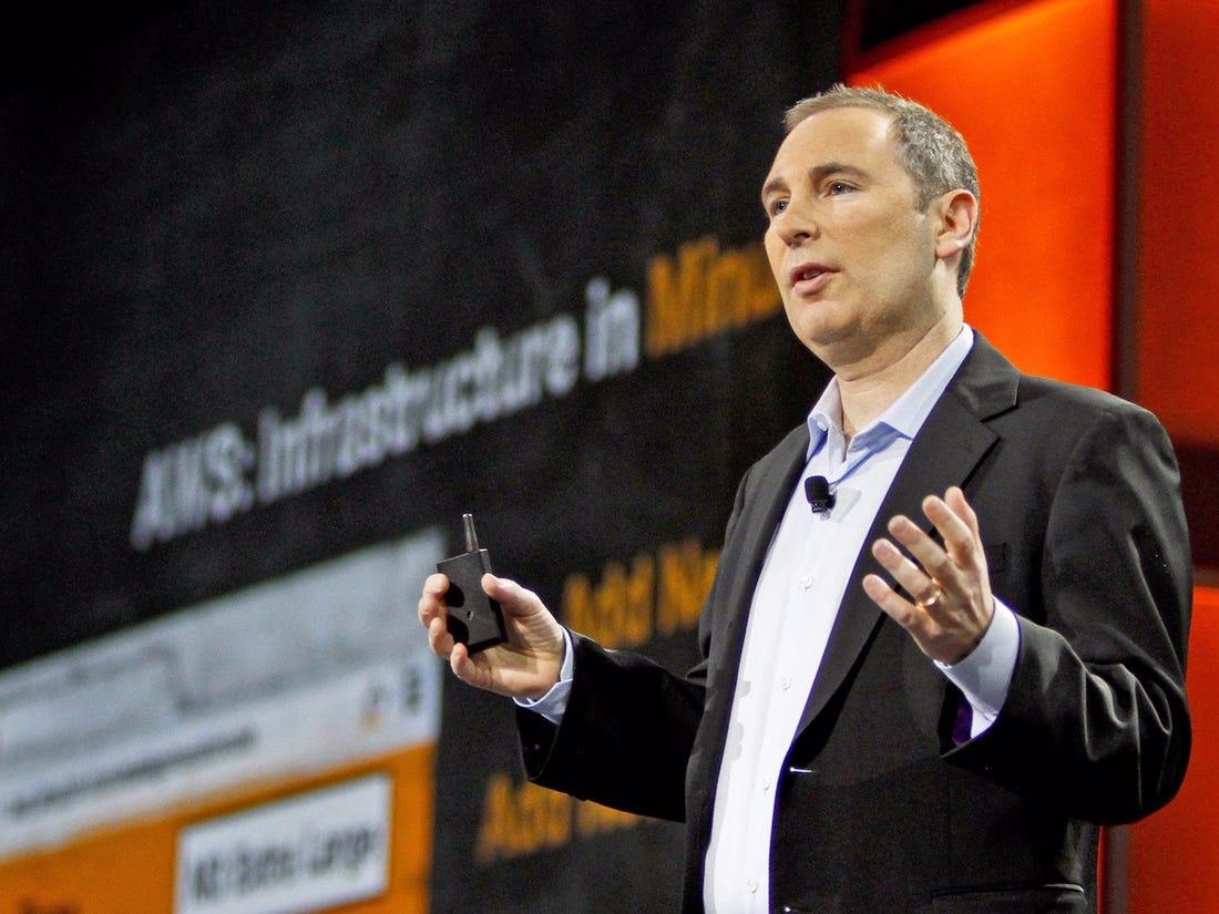 Andy Jassy khi còn là lãnh đạo Amazon Web Services. Ảnh: BI.