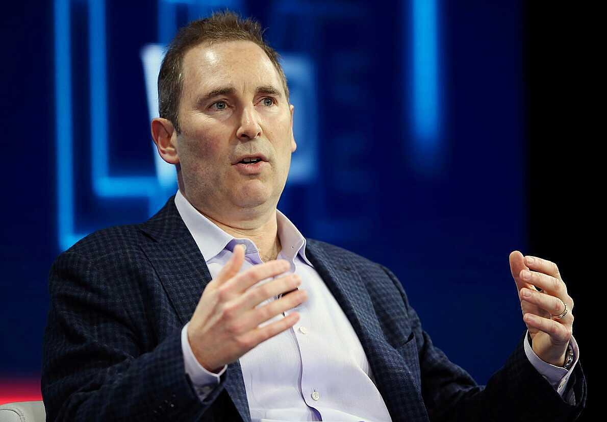 Andy Jassy khi còn là lãnh đạo Amazon Web Services. Ảnh: Reuters.