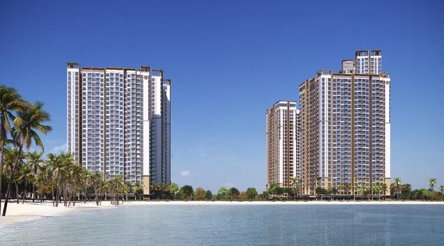 Dự án căn hộ cao cấp Masteri Waterfront với vị trí đắc địa giữa trung tâm đại đô thị Vinhomes Ocean Park.