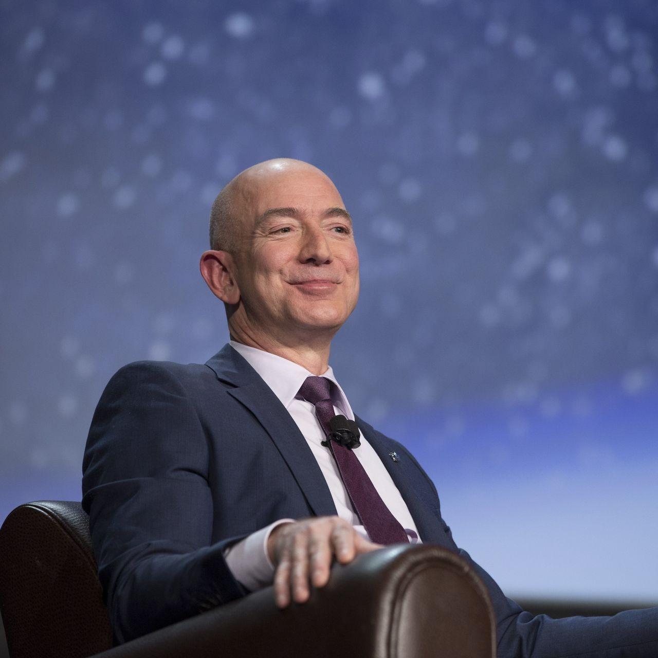 Chủ tịch điều hành Amazon Jeff Bezos. Ảnh: Bloomberg.