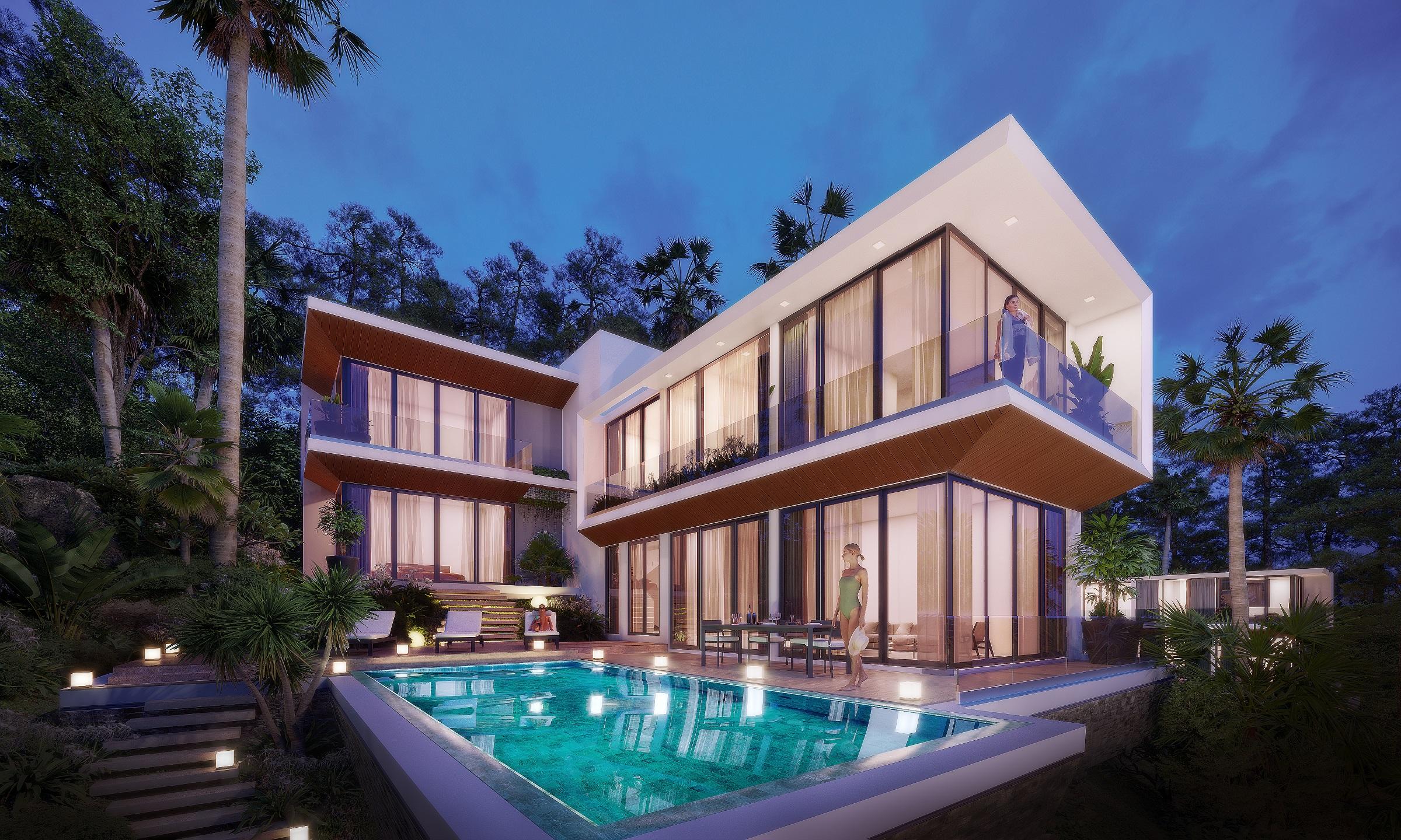 Biệt thự Casa Marina Premium Quy Nhơn được xem là kết tinh từ danh tiếng của hàng loạt đơn vị trong nước và quốc tế. Ảnh phối cảnh: BCG Land.