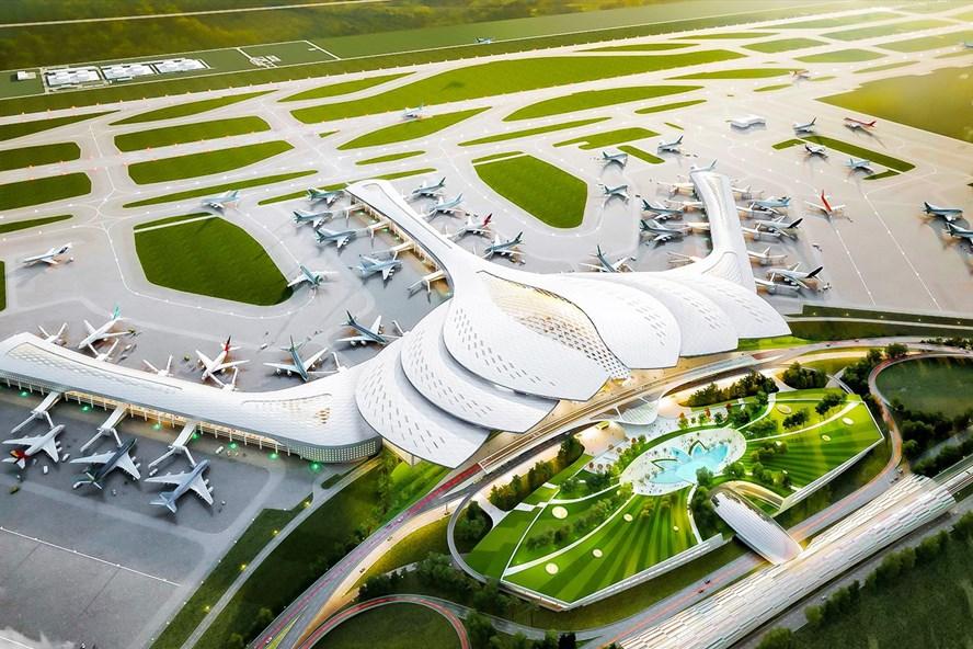 Siêu dự án sân bay Long Thành dự kiến hoàn thiện trước ngày 31/3/2025.