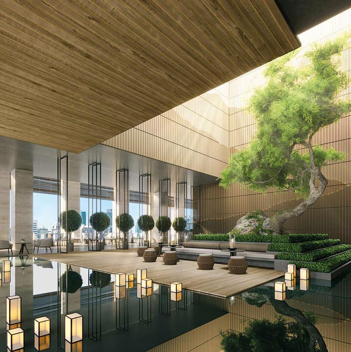 Đại spa hiện đại trong dự án.