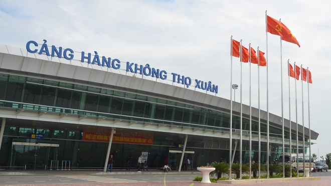 Cảng hàng không Thọ Xuân được phê duyệt nâng cấp thành Cảng hàng không Quốc Tế