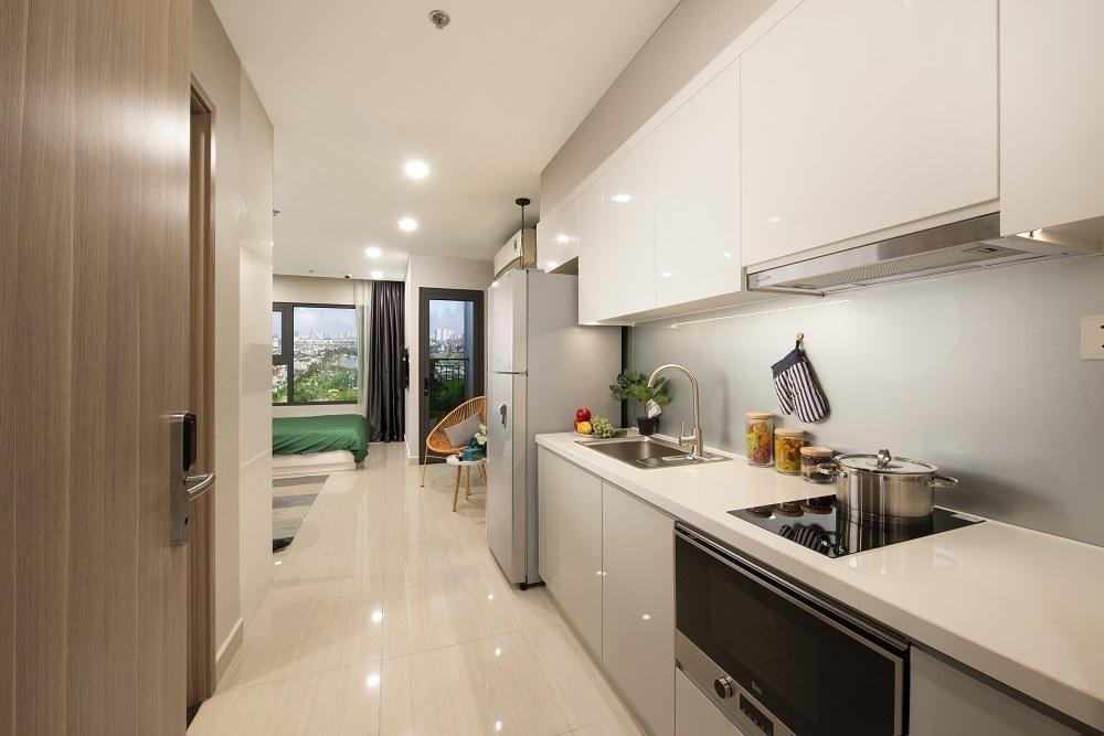 Bên trong căn hộ thuộc dự án Vinhomes Smart City. Ảnh: Vinhomes Smart City.
