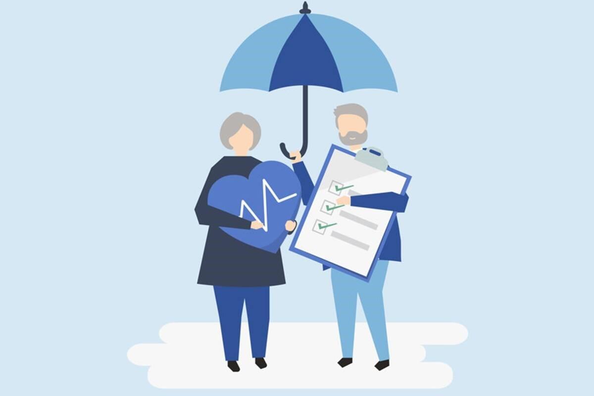 So với gói có kỳ hạn, phí bảo hiểm của gói tài trợ cao hơn nhiều và được thanh toán trong một số năm cố định. Ảnh: Financial Express.