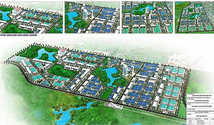 Quy hoạch tổng thể khu công nghiệp Lam Sơn - Sao Vàng.