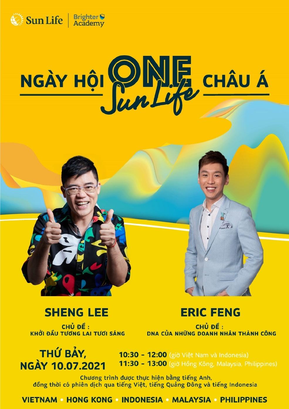 Ngày hội One Sun Life châu Á là cơ hội cho những người trẻ muốn tìm hiểu về ngành tư vấn tài chính.