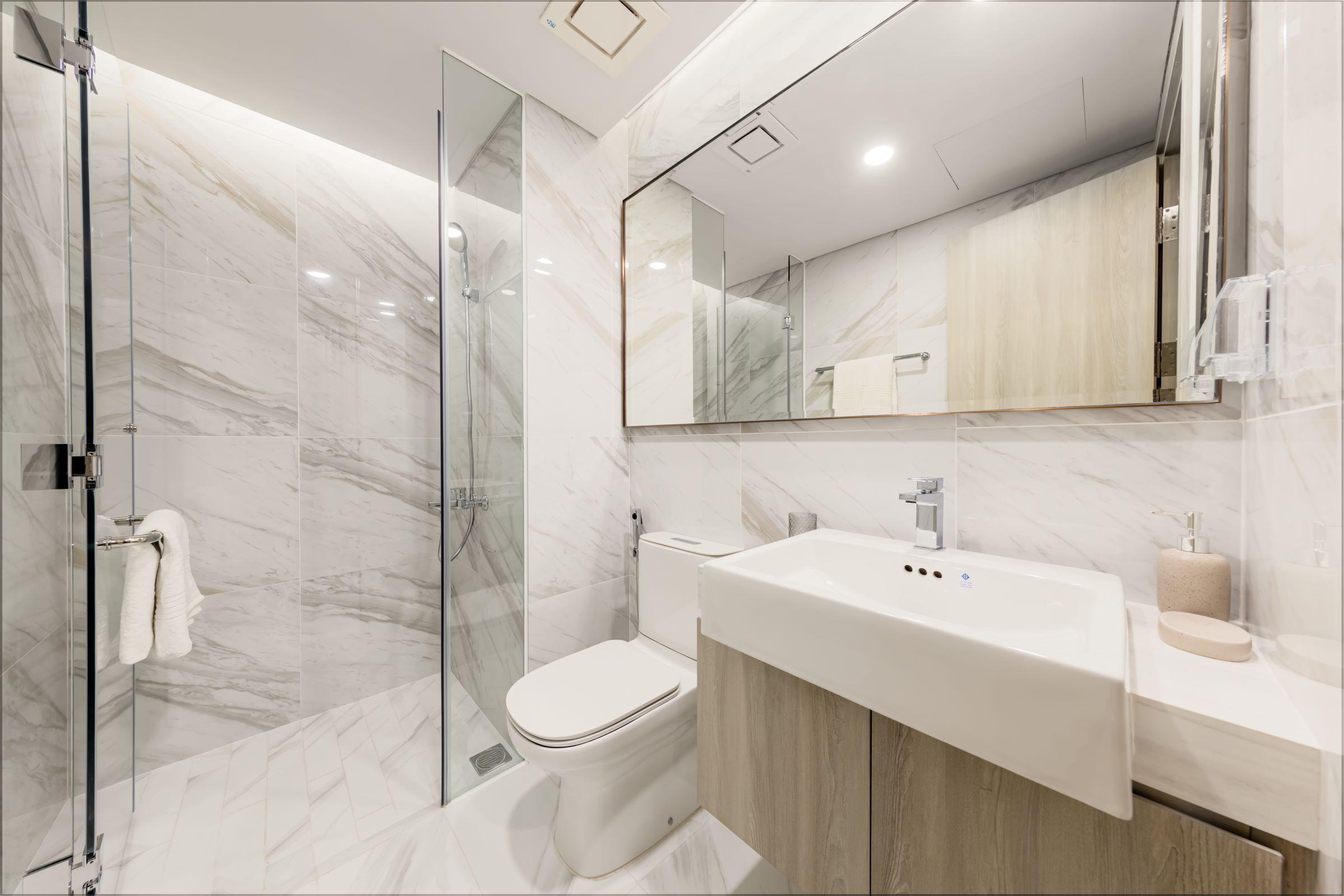Không gian nội thất Masteri West Heights được chăm chút kỹ lưỡng tới từng chi tiết cùng màu sắc đương đại và chất lượng hoàn thiện vượt trội, kiến tạo tổ ấm cho các gia đình.
